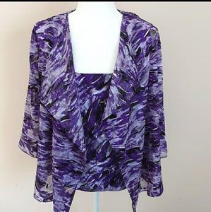 Alex Evenings Blouse and Tank Top NWT